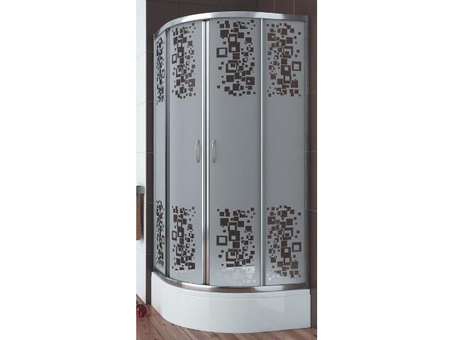 Kabina prysznicowa półokrągła ASA 80 100-06595 Aquaform