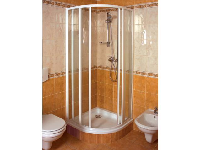 Kabina prysznicowa półokrągła SUPERNOVA SKKP6-100 szkło transparentne 320A0100Z1 Ravak