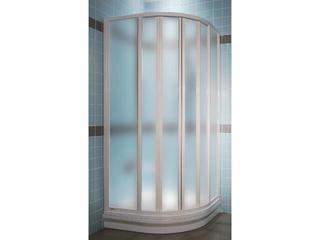 Kabina prysznicowa półokrągła SUPERNOVA SKKP6-100 profil biały, szkło grape 320A0100ZG Ravak