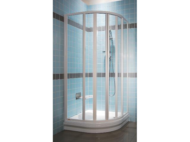 Kabina prysznicowa półokrągła SUPERNOVA SKKP6-80 SABINA szkło transparentne 32044100Z1 Ravak