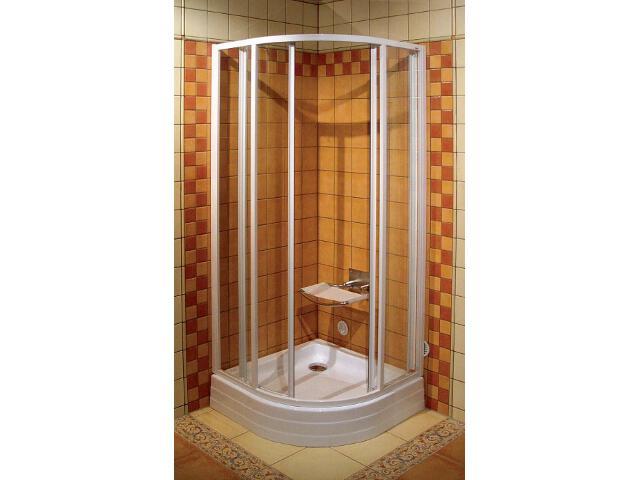 Kabina prysznicowa półokrągła SUPERNOVA SKCP4-80 szkło transparentne 31140100Z1 Ravak