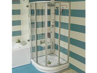 Kabina prysznicowa półokrągła SUPERNOVA SKCP4-90 szkło transparentne 31170U00Z1 Ravak