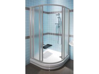 Kabina prysznicowa półokrągła SUPERNOVA SKCP4-90 profil satyna, szkło grape 31170U00ZG Ravak