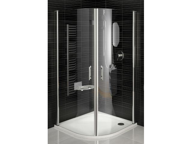 Kabina prysznicowa półokrągła ELEGANCE ESKK2-90, szkło transparentne 3E070A00Z1 Ravak