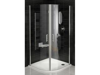 Kabina prysznicowa półokrągła ELEGANCE ESKK2-100, szkło transparentne 3E0A0A00Z1 Ravak