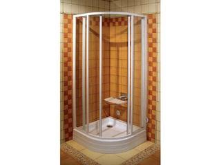 Kabina prysznicowa półokrągła SUPERNOVA SKCP4-80 SABINA szkło transparentne 31144V100Z1 Ravak