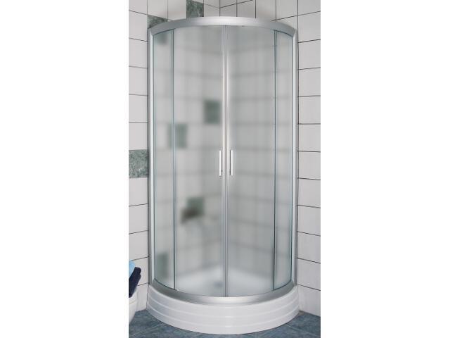 Kabina prysznicowa półokrągła RAPIER NRKKP4-90 profil satyna, szkło grape 3L470U00YG Ravak