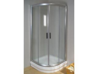 Kabina prysznicowa półokrągła RAPIER NRKCP4-100 profil satyna, szkło grape 3L3A0U00YG Ravak