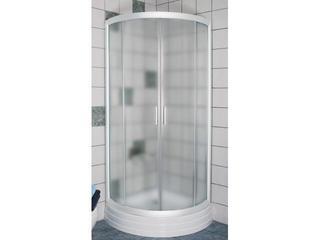 Kabina prysznicowa półokrągła RAPIER NRKKP4-90 profil biały, szkło grape 3L470100YG Ravak