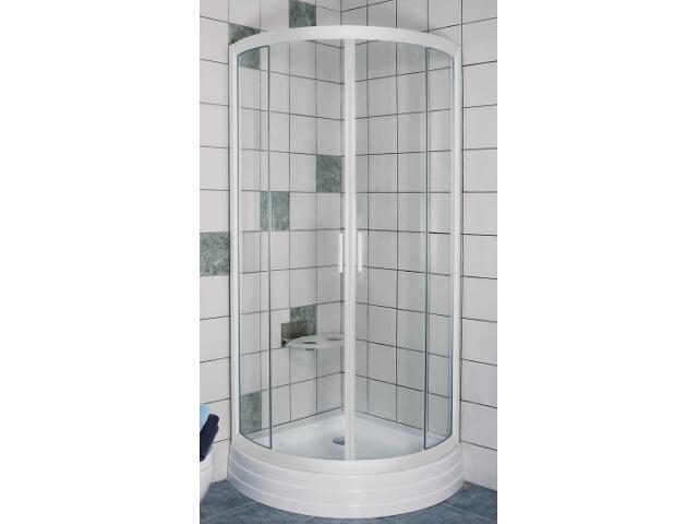 Kabina prysznicowa półokrągła RAPIER NRKKP4-90 szkło transparentne 3L470100Y1 Ravak
