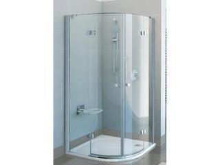 Kabina prysznicowa półokrągła FINELINE FSKK4-80, szkło transparentne 3D244A00Y1 Ravak