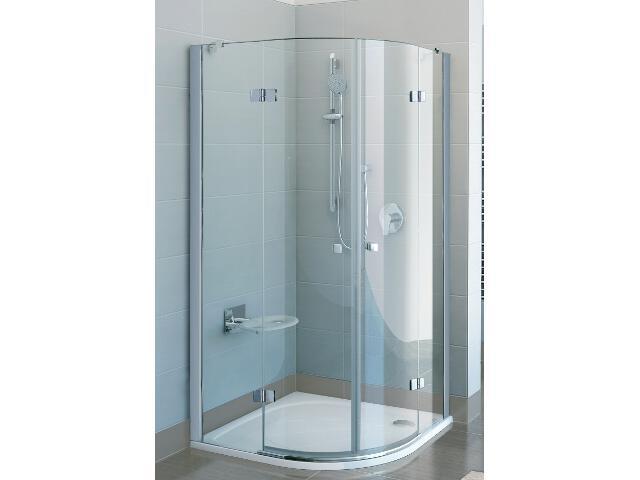 Kabina prysznicowa półokrągła FINELINE FSKK4-90, szkło transparentne 3D277A00Y1 Ravak
