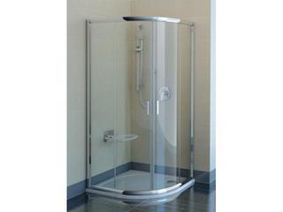 Kabina prysznicowa półokrągła BLIX BLCP-80 szkło transparentne X3B240C00Z1 Ravak