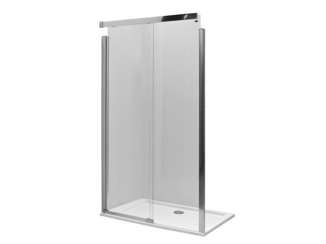 Drzwi prysznicowe S600 przesuwane lewostronne szkło hartowane JNDS0L222001 Koło