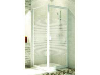 Drzwi prysznicowe ELBA 80 uchylne 103-26507 Aquaform
