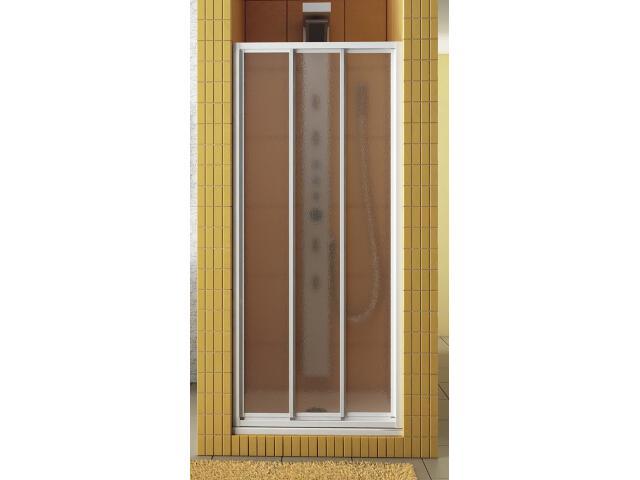 Drzwi prysznicowe NIAGARA 80 trzyczęściowe przesuwne 103-24718 Aquaform