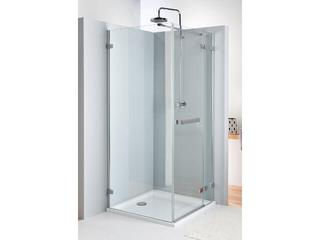 Drzwi prysznicowe NEXT skrzydłowe 120cm prawostronne z relingiem Reflex HDSF12222R03R Koło