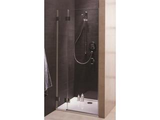 Drzwi prysznicowe NIVEN wnękowe skrzydłowe 80cm lewostronne Reflex FDRF80222003L Koło
