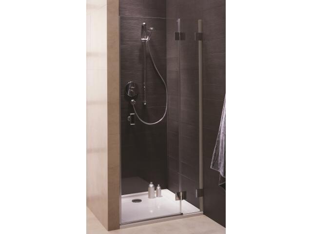 Drzwi prysznicowe NIVEN wnękowe skrzydłowe 90cm prawostronne Reflex FDRF90222003R Koło