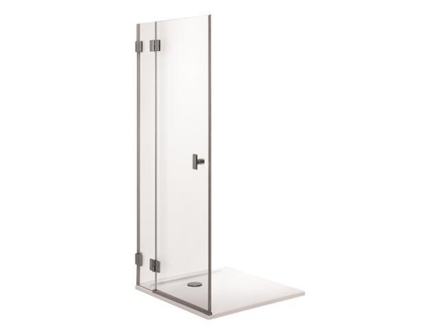 Drzwi prysznicowe NIVEN skrzydłowe 80cm lewostronne Reflex FDSF80222003L Koło