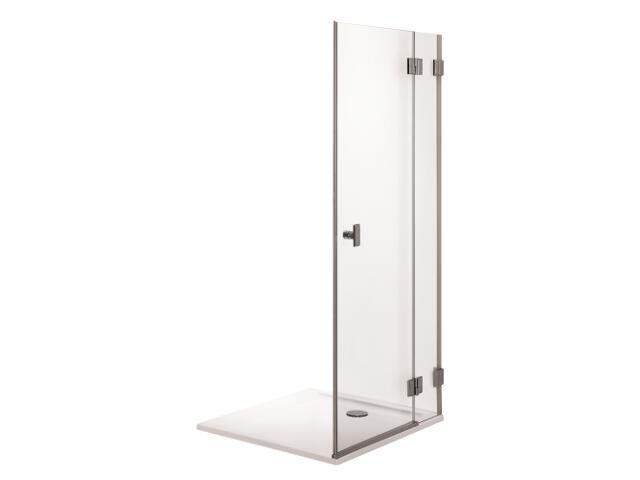 Drzwi prysznicowe NIVEN skrzydłowe 80cm prawostronne Reflex FDSF80222003R Koło
