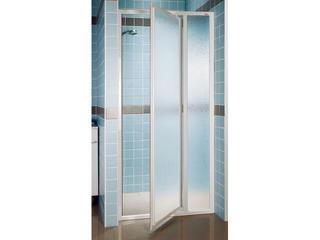 Drzwi prysznicowe SUPERNOVA SDOP-90 profil biały, polistyren pearl 03V7010011 Ravak