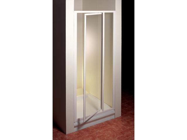 Drzwi prysznicowe SUPERNOVA SDOP-100 profil biały, szkło transparentne 03VA0100Z1 Ravak