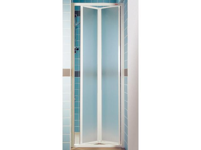 Drzwi prysznicowe SUPERNOVA SDZ3-100 profil biały, szkło grape 02VA0100ZG Ravak