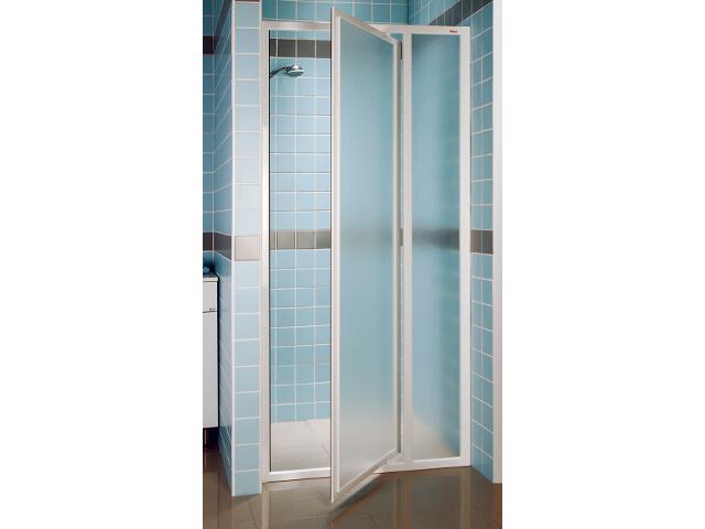 Drzwi prysznicowe SUPERNOVA SDOP-100 profil biały, szkło grape 03VA0100ZG Ravak