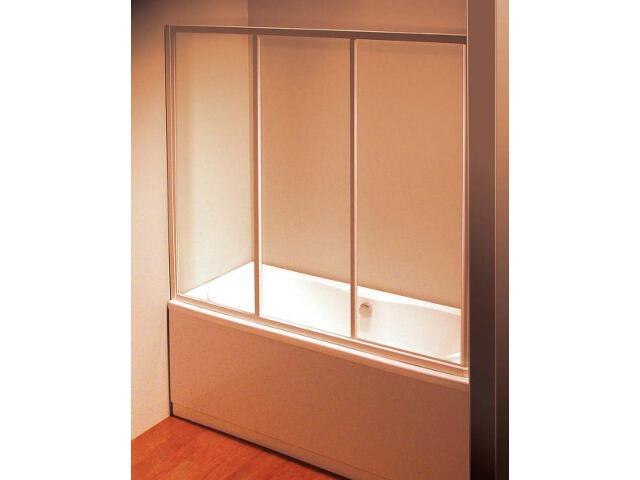 Drzwi prysznicowe nawannowe SUPERNOVA AVDP3-120 szkło transparentne 40VG0102Z1 Ravak