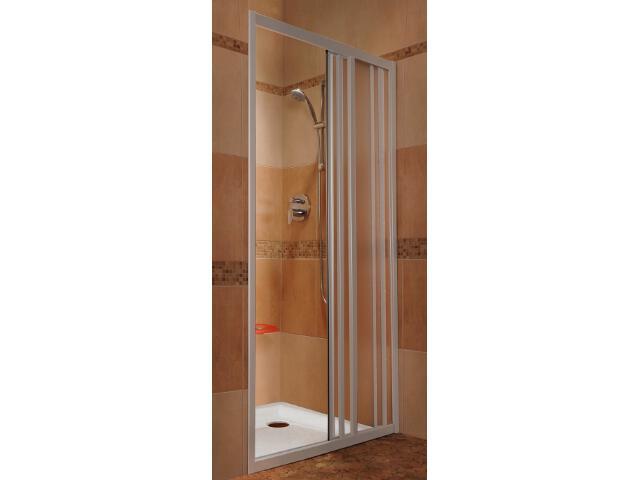 Drzwi prysznicowe SUPERNOVA ASDP3-130 profil biały, polistyren pearl 00VJ010211 Ravak