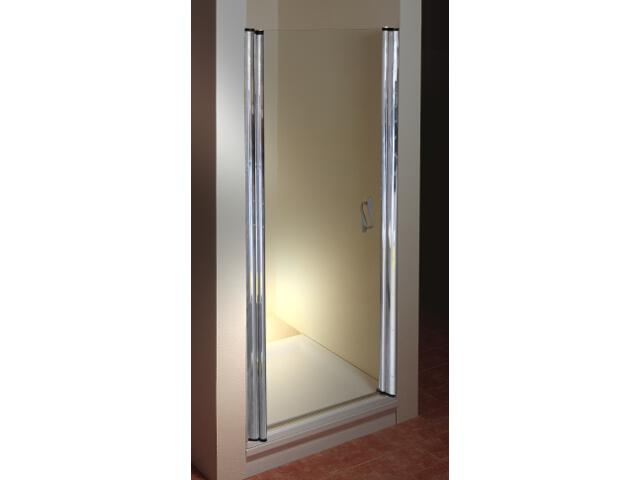 Drzwi prysznicowe ELEGANCE ESD1-100 L profil chrom, szkło transparentne 0ELA0A00Z1 Ravak