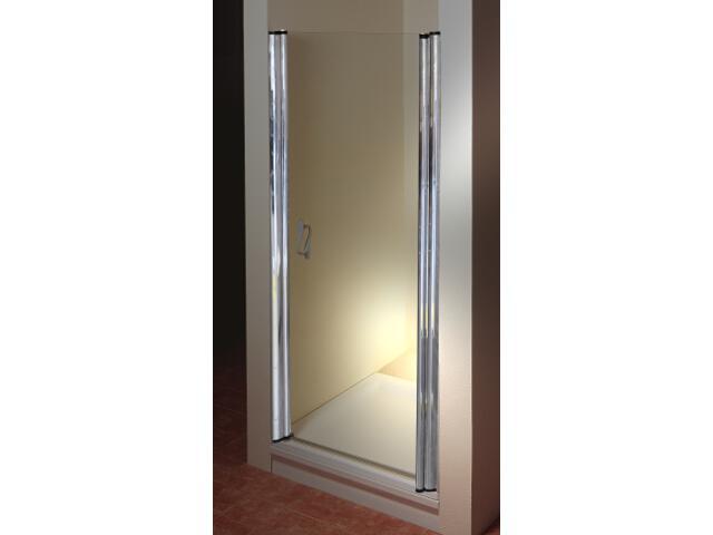 Drzwi prysznicowe ELEGANCE ESD1-80 P profil chrom, szkło transparentne 0EP40A00Z1 Ravak