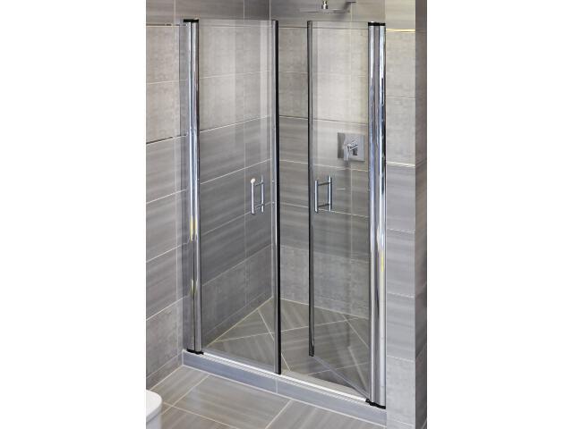Drzwi prysznicowe ELEGANCE ESD2-110 profil chrom, szkło transparentne 0HVD0A00Z1 Ravak