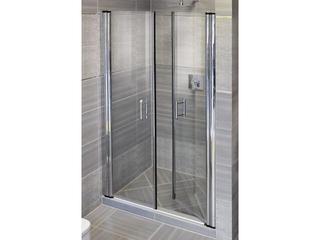 Drzwi prysznicowe ELEGANCE ESD2-120 profil chrom, szkło transparentne 0HVG0A00Z1 Ravak