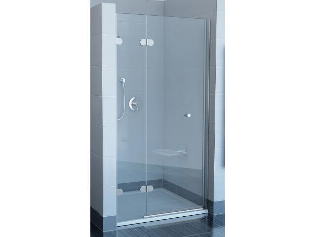 Drzwi prysznicowe GLASSLINE GSD2-90 B-L profil chrom, szkło transparentne 09L7BA00Z1 Ravak