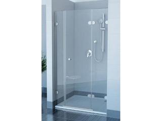 Drzwi prysznicowe GLASSLINE GSD3-120 P profil chrom, szkło transparentne 09PG0A00Z1 Ravak