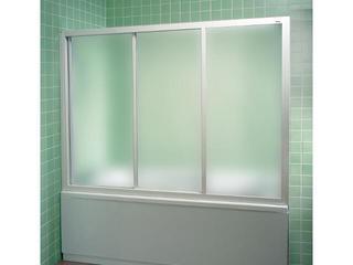 Drzwi prysznicowe nawannowe SUPERNOVA AVDP3-160 profil biały, szkło grape 40VS0102ZG Ravak