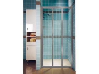Drzwi prysznicowe SUPERNOVA ASDP3-80 profil satyna, szkło transparentne 00V40U02Z1 Ravak