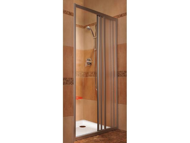 Drzwi prysznicowe SUPERNOVA ASDP3-100 profil satyna, polistyren pearl 00VA0U0211 Ravak