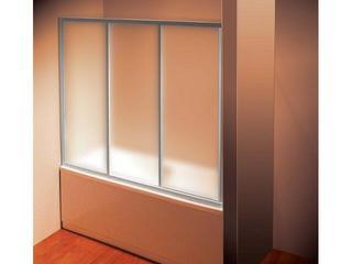 Drzwi prysznicowe nawannowe SUPERNOVA AVDP3-120 profil satyna, szkło grape 40VG0U02ZG Ravak