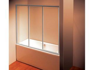 Drzwi prysznicowe nawannowe SUPERNOVA AVDP3-160 szkło transparentne 40VS0U02Z1 Ravak