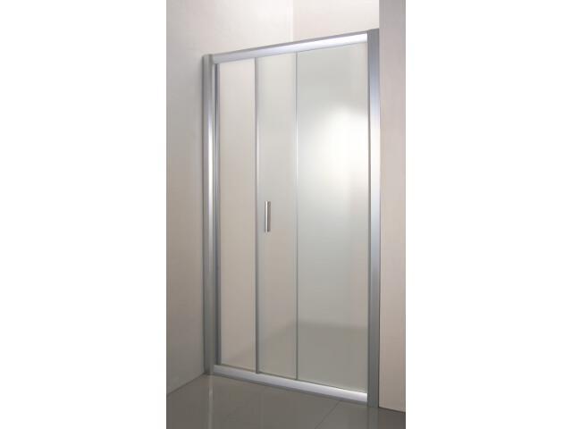 Drzwi prysznicowe RAPIER NRDP2-100 P profil satyna, szkło grape 0NNA0U0PZG Ravak