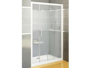 Drzwi prysznicowe RAPIER NRDP2-100 P profil biały, szkło grape 0NNA010PZG Ravak