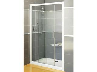 Drzwi prysznicowe RAPIER NRDP2-100 L profil biały, szkło transparentne 0NNA010LZ1 Ravak