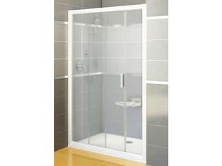 Drzwi prysznicowe RAPIER NRDP2-110 L profil biały, szkło grape 0NND010LZG Ravak