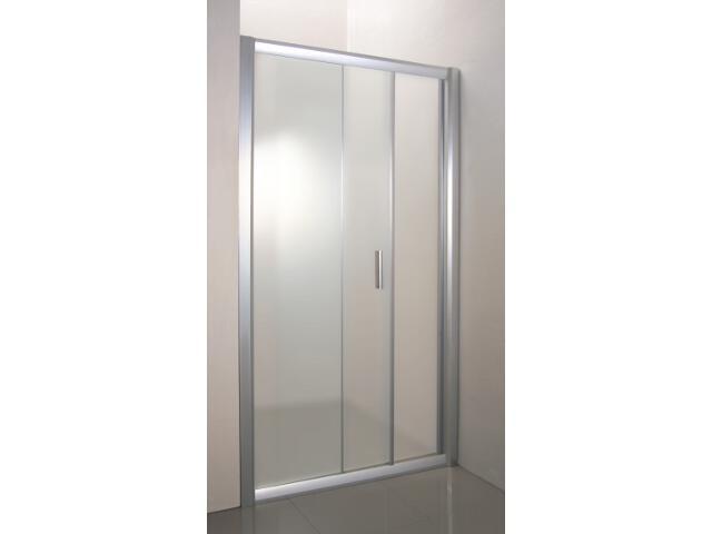 Drzwi prysznicowe RAPIER NRDP2-120 L profil satyna, szkło grape 0NNG0U0LZG Ravak