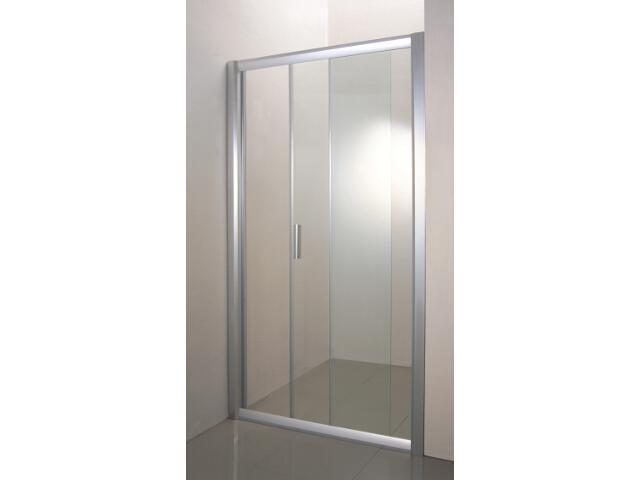 Drzwi prysznicowe RAPIER NRDP2-120 P profil satyna, szkło transparentne 0NNG0U0PZ1 Ravak
