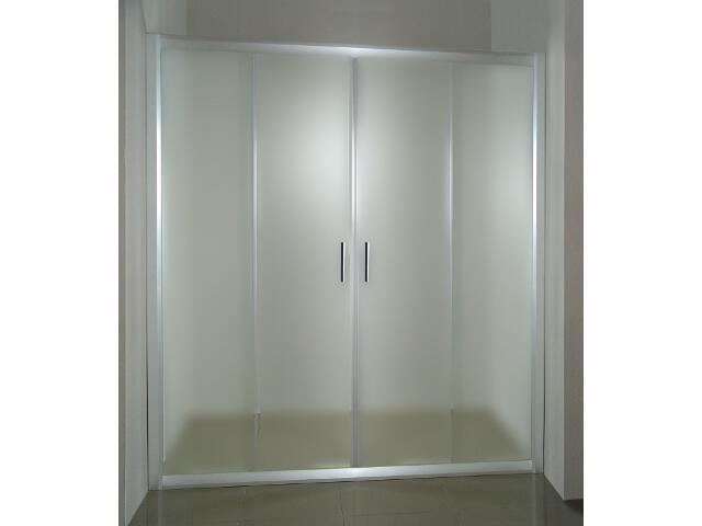 Drzwi prysznicowe RAPIER NRDP4-130 profil satyna, szkło grape 0ONJ0U00ZG Ravak