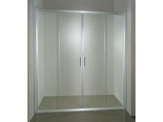 Drzwi prysznicowe RAPIER NRDP4-130 profil satyna, szkło transparentne 0ONJ0U00Z1 Ravak